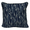 allen + roth Geometric Square Throw Outdoor Decorative Pillow