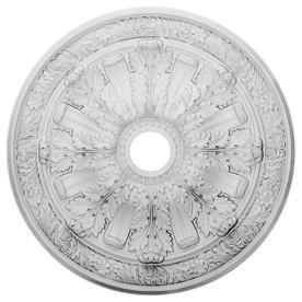 Ekena Millwork Flagstone 30-in x 30-in Polyurethane Ceiling Medallion