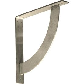 Countertop Zip Bolts : ... in x 14-in Stainless Steel Countertop Support Bracket at Lowes.com