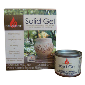 6-Pack 2.8-oz Solid Gel Fuel