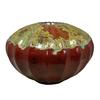 allen + roth 6.1-in Red Ceramic Fire Pot