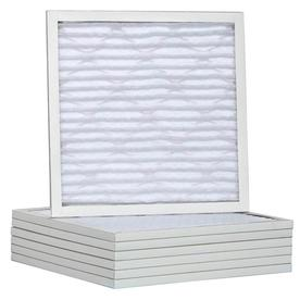 Filtrete 6-Pack Pleated Ready-to-Use Industrial HVAC Filters (Common: 20-in x 22-in x 1-in; Actual: 19.75-in x 21.75-in x .75-in)