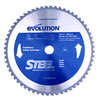 Evolution 12-in 80-Tooth Standard Tungsten Carbide-Tipped Steel Circular Saw Blade