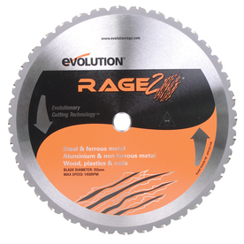 Evolution 14-in 36-Tooth Circular Saw Blade