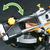 Evolution RAGE3 10-in 15-Amp Single Bevel Sliding Laser Compound Miter Saw