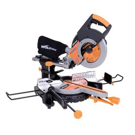 Evolution 10-in 15-Amp Sliding Compound Laser Miter Saw
