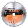 Evolution 10-in 28-Tooth Standard Tungsten Carbide-Tipped Steel Circular Saw Blade