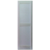 Custom Shutters llc. 2-Pack Paintable Louvered Vinyl Exterior Shutters (Common: 63-in x 16-in; Actual: 63-in x 16.25-in)