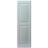 Custom Shutters llc. 2-Pack Paintable Raised Panel Vinyl Exterior Shutters (Common: 57-in x 14-in; Actual: 57-in x 14.5-in)