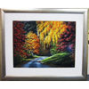 Alpine Art & Mirror 31-in W x 25-in H Country Walk Is An Excellent Work Framed Wall Art