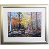 Alpine Art & Mirror 31-in W x 25-in H Country Creek Framed Wall Art