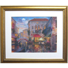 Alpine Art & Mirror 31-in W x 26-1/8-in H Venice Is Renowned Framed Wall Art