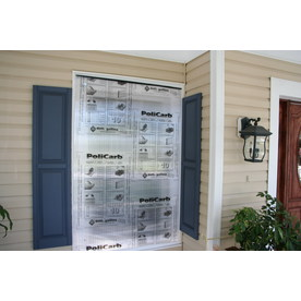 HurriGuard 48-in x 72-in Clear Polycarbonate Hurricane Panels