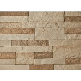 AirStone 8-Sq ft Autumn Mountain Ledge Stone Veneer