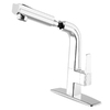 cleanFLO Matisse 1-Handle Pull-Out Sink/Counter Mount Traditional Kitchen Faucet