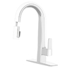 cleanFLO Matisse 1-Handle Pull-Down Sink/Counter Mount Traditional Kitchen Faucet