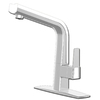 cleanFLO Matisse 1-Handle High-Arc Sink/Counter Mount Traditional Kitchen Faucet