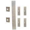 EZ Armor Double Door Security Kit (Satin Nickel)