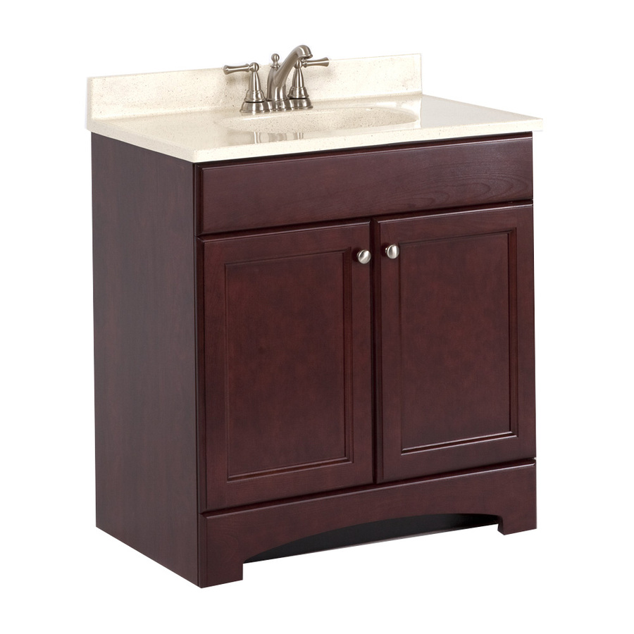 30 x 18 bathroom vanity with top and sink