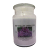 Soy Valley Candle Co. 24 oz Purple Jar Candle