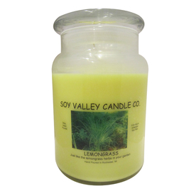 Soy Valley Candle Co. 24-oz Yellow Jar Candle