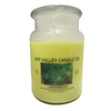 Soy Valley Candle Co. 24 oz Yellow Jar Candle