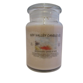 Soy Valley Candle Co. 24 oz Brown Jar Candle
