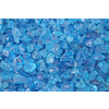 Exotic Glass 10-lb Turquoise Fire Glass (Small)
