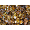 Exotic Glass 25-lb Amber Fire Glass (Small)