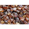 Exotic Glass 25-lb Amber Fire Glass (Medium)