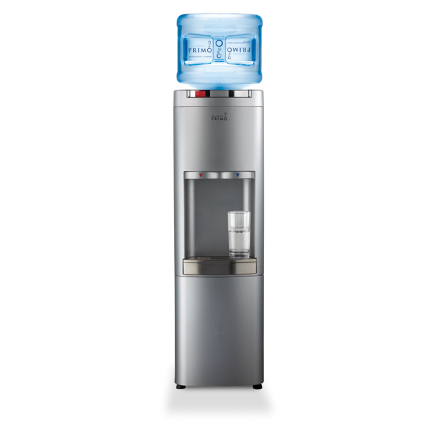 Shop primo hot cold water dispenser with storage at for Primo water dispenser