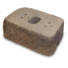 allen + roth Luxora 16-in L x 6-in H Sonoma Country Manor Retaining Wall Block (Actuals 16-in L x 6-in H)