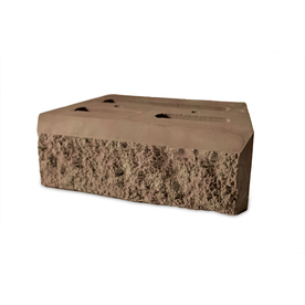 Sunset Insignia Concrete Retaining Wall Block (Common: 12-in x 4-in; Actual: 12-in x 4-in)