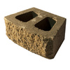 Tan/Brown Basic Retaining Wall Block (Common: 16-in x 6-in; Actual: 16-in x 6-in)
