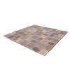 StoneBilt Concepts 10-ft x 10-ft Dark Buff Sandstone 3-Piece Patio Block Project Kit