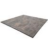 StoneBilt Concepts 10-ft x 9-ft x 9-in Burnt Walnut Promenade Patio Block Project Kit