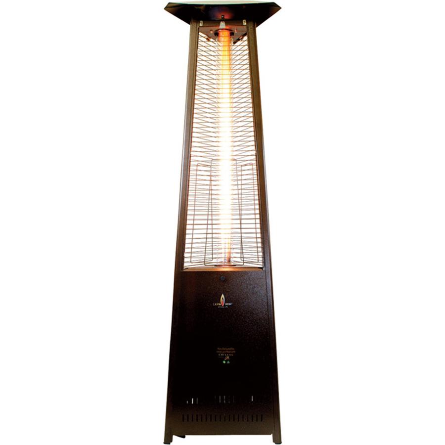Shop 51 000 Btu Heritage Bronze Steel Liquid Propane Patio Heater At Lowes