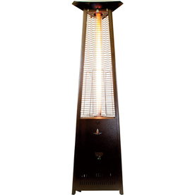51,000-BTU Heritage Bronze Steel Liquid Propane Patio Heater