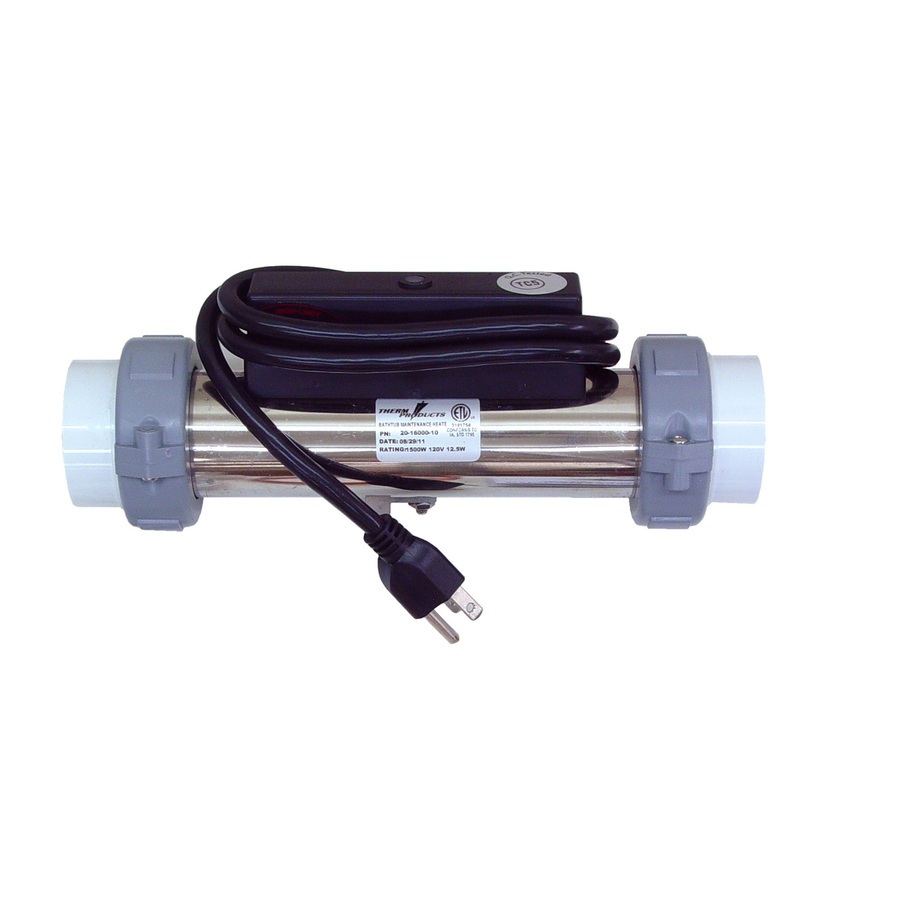 Shop Therm Products 1500 Watt Inlet Heater For Whirlpool Tub At