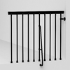 Arke Eureka 3.9-ft Black Painted Steel Stair Railing Kit