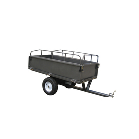 Blue Hawk 17-cu ft Steel Dump Cart