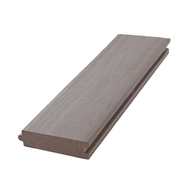 Aeratis Weathered Wood PVC Porch Flooring (Common: 1-in x 4-in x 10-ft; Actual: 0.875-in x 3.125-in x 10-ft)
