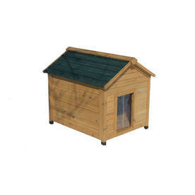 Shop medium insulated cedar dog house at lowescom for Dog houses sold at lowes