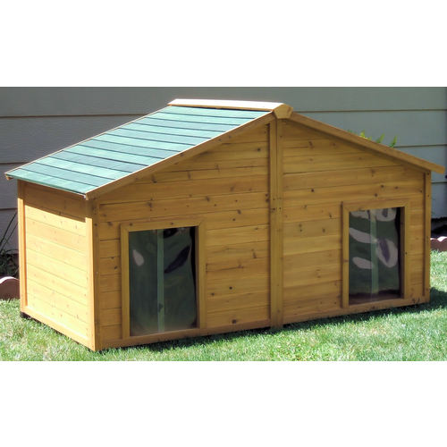 Free insulated dog house plans for large dogs for Insulated dog houses for large dogs
