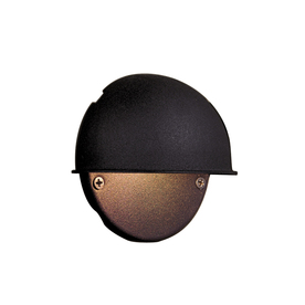 Portfolio Black Low-Voltage Deck Light