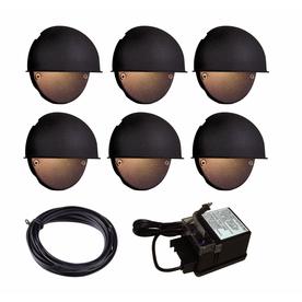 home portfolio 2 low voltage incandescent landscape deck lighting. Black Bedroom Furniture Sets. Home Design Ideas