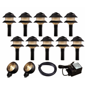Shop Portfolio Black Path Light Kit At