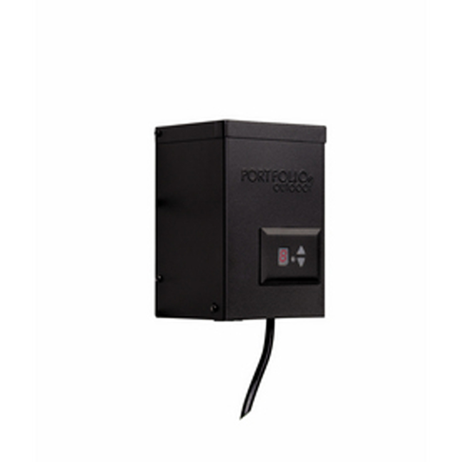 landscape lighting transformer with digital timer with dusk to dawn. Black Bedroom Furniture Sets. Home Design Ideas