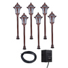 Portfolio 6-Light Copper Low-Voltage Path Light Kit