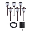 Portfolio 6-Light Bronze Low-Voltage Path Light Kit